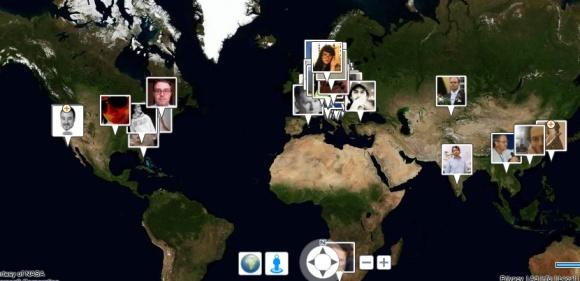 bing maps facebook