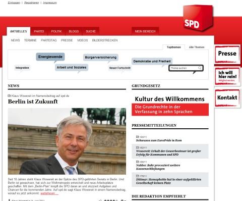 SPD Homepage